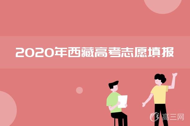 2020年西藏高考志愿填报指南
